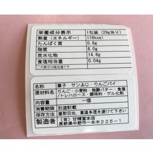 小さなりんごパイ 10個入り|送料込※送付先が沖縄県宛ての場合、追加送料240円(税込)かかります。|busan-nagano|04