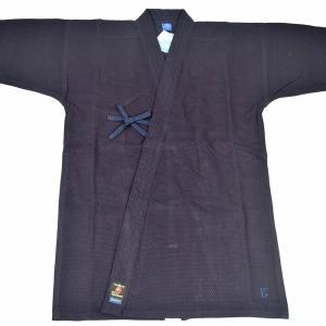 藍染本格的夏用剣道着! 仕立はゆったり「背継」、染は「藍」。有段者のための本格仕様です。  市松織刺...