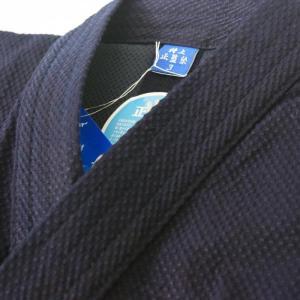 """冷感素材裏地付剣道衣 東レ""""クールインF""""は、吸放性と接触冷感性に優れた特殊なナイロン素材。  1、..."""