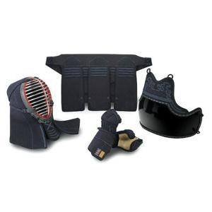 栄光武道具 6mm織刺 少年用とんぼ 防具セット