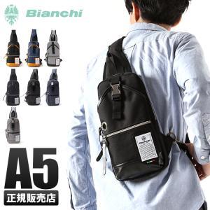ビアンキ ボディバッグ ワンショルダー 日本正規品 撥水性 メンズ レディース ユニセックス ブラック A5 男女兼用 Bianchi NBTC-01 business-bugs