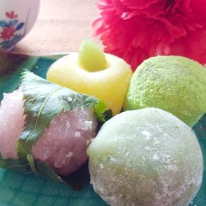 一口和菓子 春セット ひな祭り 桃の節句 ホワイトデー 花見 四季慈庵|bussan10