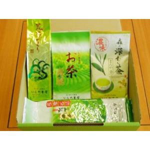 静岡のお茶屋 いしだ茶屋 家庭用おすすめお茶詰合せ|bussan10