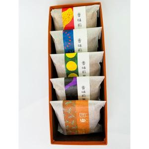 大阪 お土産 粟おこし「香味煎菓」(5袋入り) bussan10