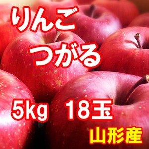 りんご つがる 5kg 18玉 送料無料 国産 山形産 |bussan10