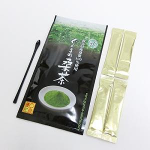 1000円ポッキリ 専用スプーン付き 桑茶 粉末 無農薬 国産 ぐんまの桑茶(パウダータイプ) 1袋(50g) スティックタイプ4包|bussan10