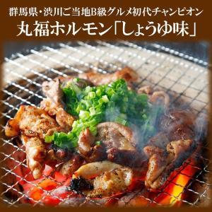 ホルモン焼き 丸福ホルモン「しょうゆ味」3袋セット 赤城のホルモン屋|bussan10