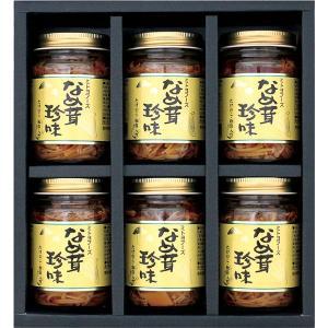 竹の子・松茸入り なめ茸 珍味 6本セット(S1) bussan10