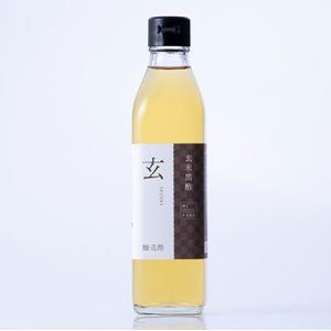 玄米黒酢 玄(しずか)300ml|bussan10
