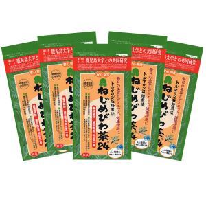 「ねじめびわ茶24」の5袋セット 計120包 十津川農場|bussan10
