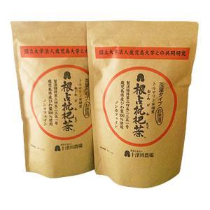 「ねじめびわ茶茶葉お徳用」の2袋セット 計500g 十津川農場|bussan10