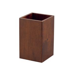 カトラリー 食器収納 木製カトラリースタンド ブラウン てまひま工房|bussankan