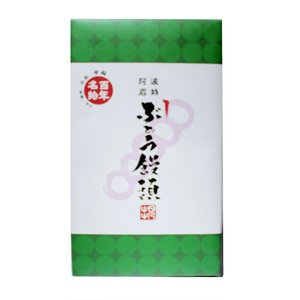 ぶどうまんじゅう 24本入り 贈答品 阿波銘菓 日之出本店...