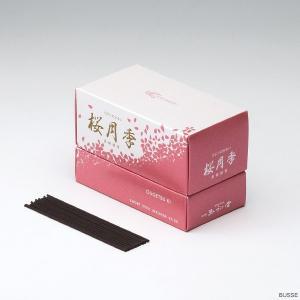 玉初堂のお線香 桜月季 超短寸|busse