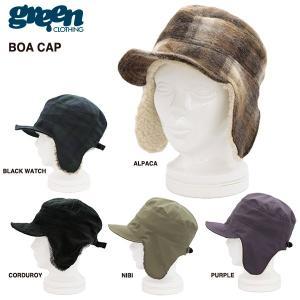 green clothing BOA CAP 2016-2017モデル / グリーンクロージング ボアキャップ|bussel