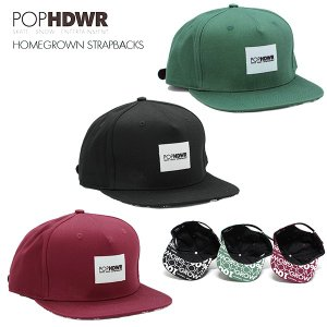 POP HEADWEAR Homegrown Strapbacks / ポップヘッドウエア|bussel