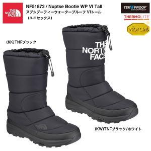 THE NORTH FACE NF51872 Nuptse Bootie WP VI Tall / ザ・ノースフェイス ヌプシブーティーウォータープルーフ VIトール(ユニセックス)|bussel