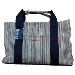 TOTE DENIM BAG(ワンバイワンのトート デニムバッグ)|bussel