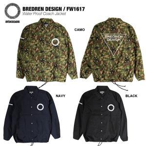 BREDREN DESIGN×AFDICEGAER Waterproof Coach Jacker / ブレジンデザインのウォータープルーフコーチジャケット|bussel