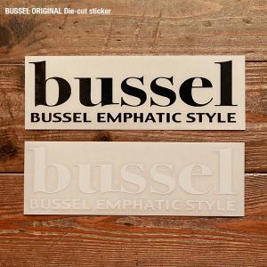 BUSSEL オリジナル ダイカットステッカー|bussel