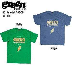 Green clothing GCB T-shirts / グリーンクロージング Tシャツ 2017モデル|bussel