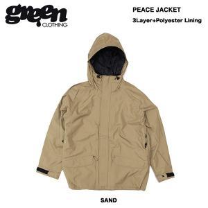 17-18モデル green clothing Peace Jacket / グリーンクロージング ピースジャケット|bussel