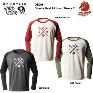 MHW (Mountain Hardwear) × T.J BRAND クラウドレストTJ ロングスリーブT (OE2061)|bussel
