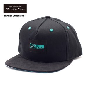 POP HEADWEAR Hawaiian Strapbacks / ポップヘッドウエア SU17 SPOT|bussel
