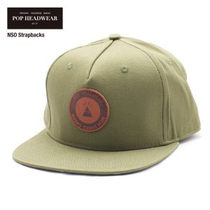 POP HEADWEAR NSO Strapbacks / ポップヘッドウエア SU17 SPOT|bussel