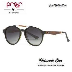 proof eye wear CHINOOK Black Fade Polarized / ECO Collection 偏光レンズ|bussel