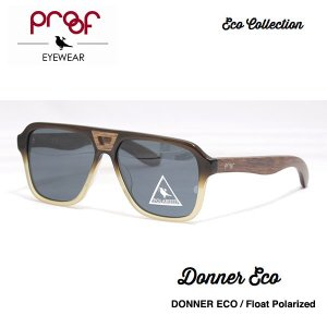 proof eye wear DONNER Float Polarized / ECO Collection 偏光レンズ|bussel