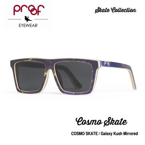 proof eye wear COSMO SKATE Galaxy Kush Mirrored / Skate Collection ミラーレンズ|bussel