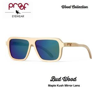 proof eye wear BUD Bamboo Kush mirror lens / Wood Collection ミラーレンズ|bussel