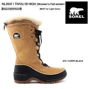 SOREL NL2537 Women's TIVOLI III HIGH BOOT  /ソレル ティボリIIIハイ(レディースブーツ)|bussel
