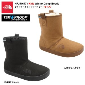 THE NORTH FACE NFJ51647 Kids Winter Camp Bootie / ウインターキャンプブーティー(キッズ)|bussel