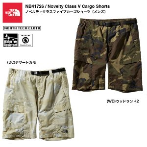 2bdac1252f THE NORTH FACE NB41726 Novelty Class V Cargo Shorts / ザ・ノースフェイス ノベルティクラス ...