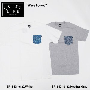 ★THE QUIET LIFE★ Wave Pocket T Classic / クワイエットライフ|bussel