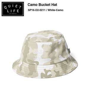 ★THE QUIET LIFE★ Camo Bucket Hat / クワイエットライフ バケットハット|bussel