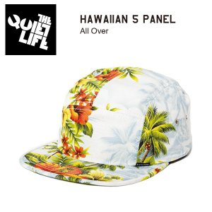 ★THE QUIET LIFE★ HAWAIIAN 5 PANEL / クワイエットライフ キャップ|bussel