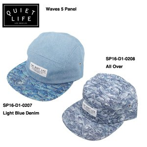 ★THE QUIET LIFE★ WAVE 5 PANEL / クワイエットライフ キャップ 2016 Spring model|bussel