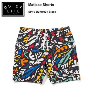 ★THE QUIET LIFE★ Matisse Shorts / クワイエットライフ 2016 SPRING MODEL|bussel