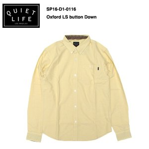★THE QUIET LIFE★ Oxford Button Down / クワイエットライフ 2016 SPRING MODEL|bussel