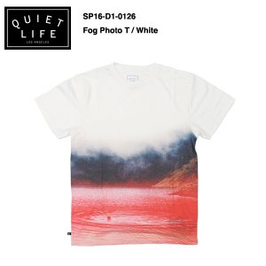 ★THE QUIET LIFE★ Fog Photo T / クワイエットライフ 2016 Spring model|bussel