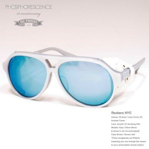 TWELVE 15anniversary ★PHOSPHORESCENCE×TWELVE★ Rockers NYC metallic gray 15周年記念コラボモデル|bussel