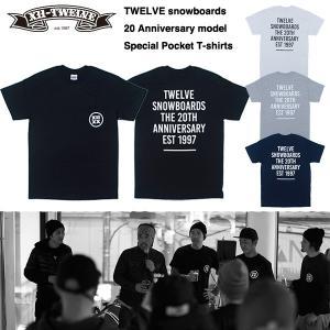 【再入荷!】TWELVE 20 Anniversary Pocket T-shirts / トゥエルブ 2016モデル Tシャツ 20周年記念Tシャツ|bussel