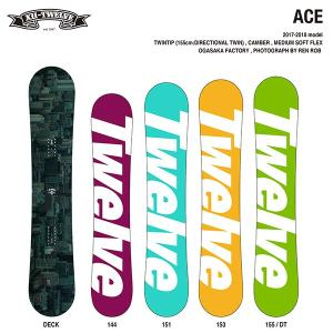 TWELVE 12snowboards ACE twintip camber 2018モデル|bussel