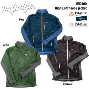 UN / Unfudge UN3400 High Loft fleece jacket / アンファッジ POLARTECフリースジャケット bussel