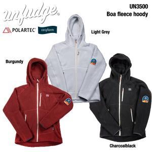 UN / Unfudge UN3500 Boa fleece hoody / アンファッジ POLARTECフリースジャケット bussel