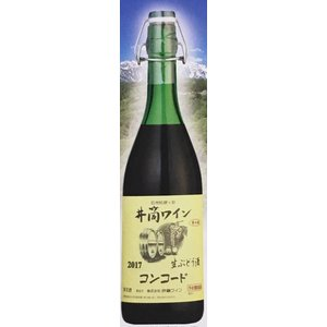 新酒 井筒ワイン無添加生にごりワイン赤2016 【長野県産ワイン】