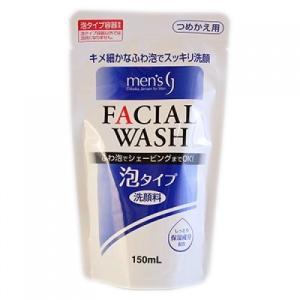 メンズ泡洗顔 詰替 150ml|busshouzan